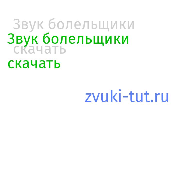 болельщики Звук