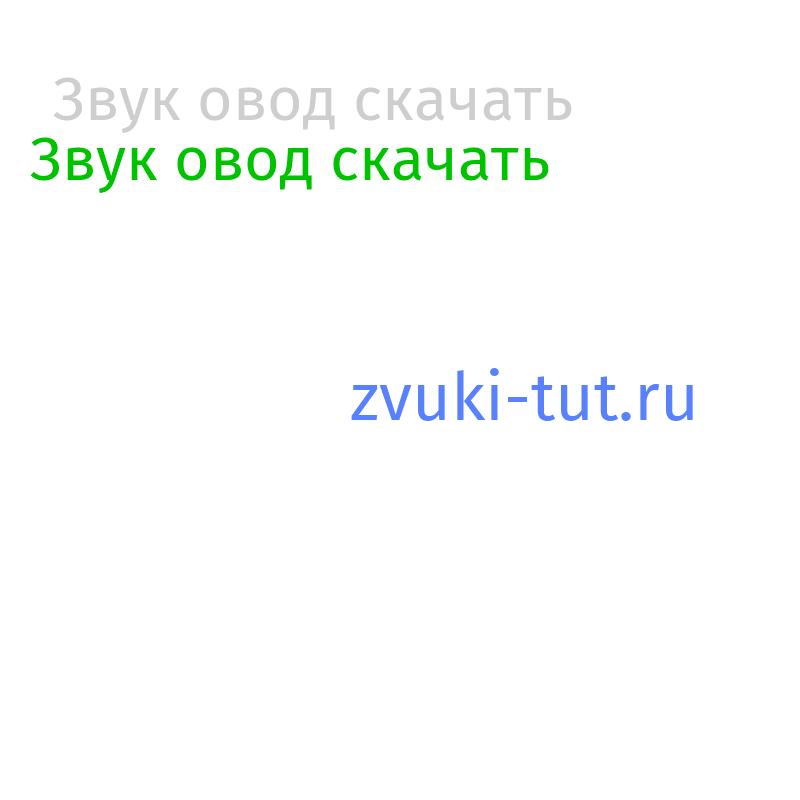 овод Звук