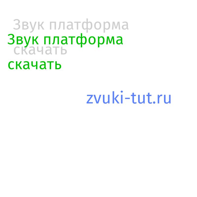 платформа Звук