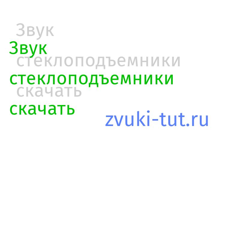 стеклоподъемники Звук
