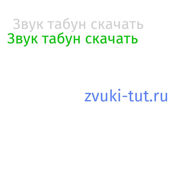 табун Звук
