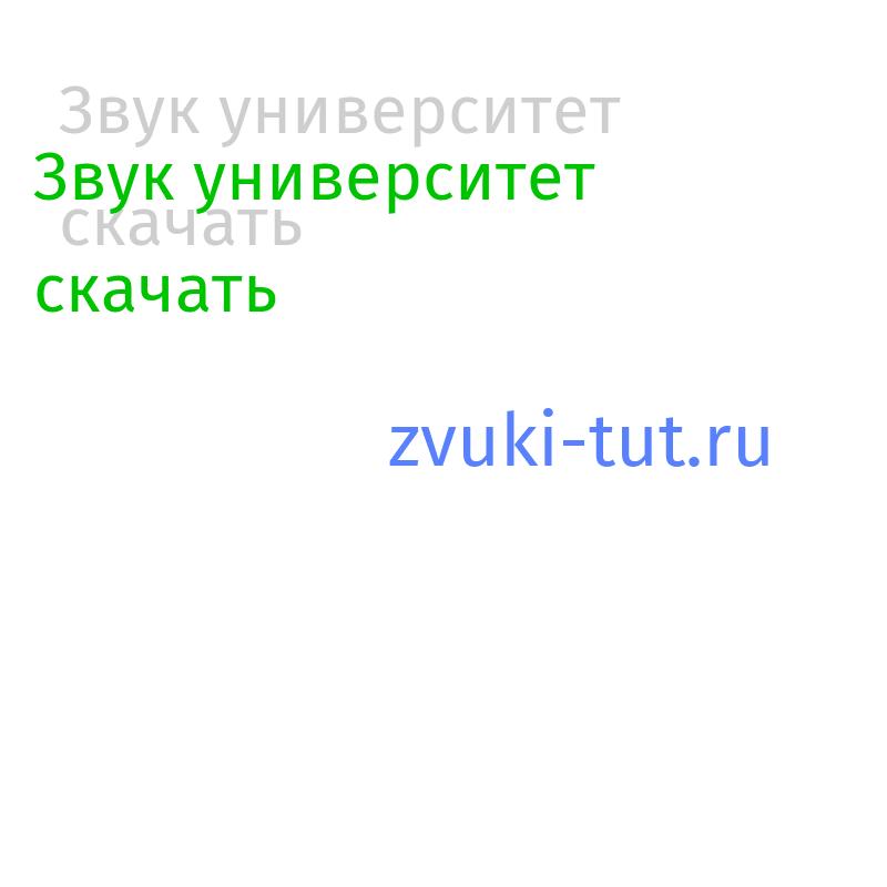 университет Звук