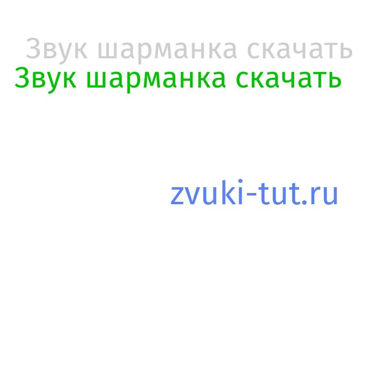 шарманка Звук